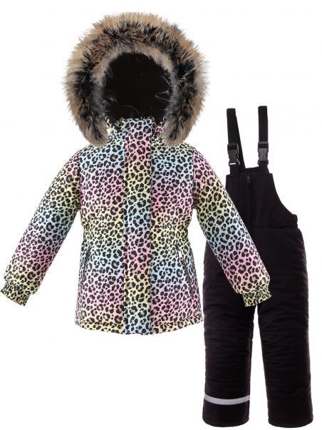 Modny komplet zimowy z kurtką i spodniami