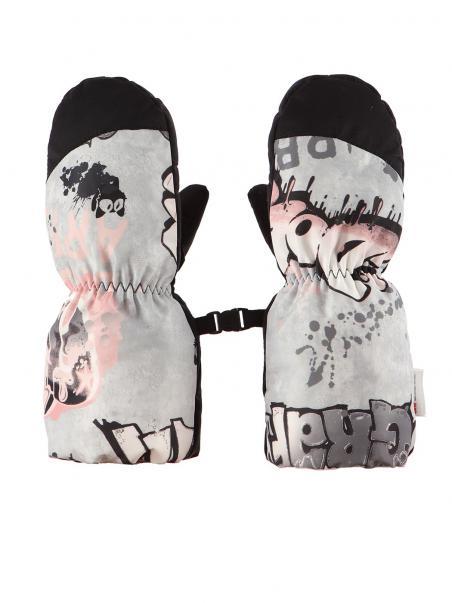 Długie rękawiczki zimowe