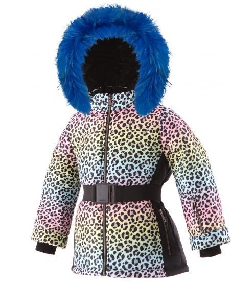 Zimowa kurtka sportowa z paskiem