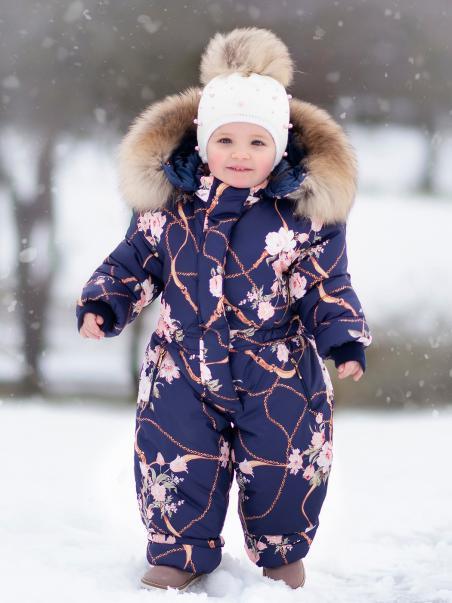 Zimowy kombinezon jednozamkowy